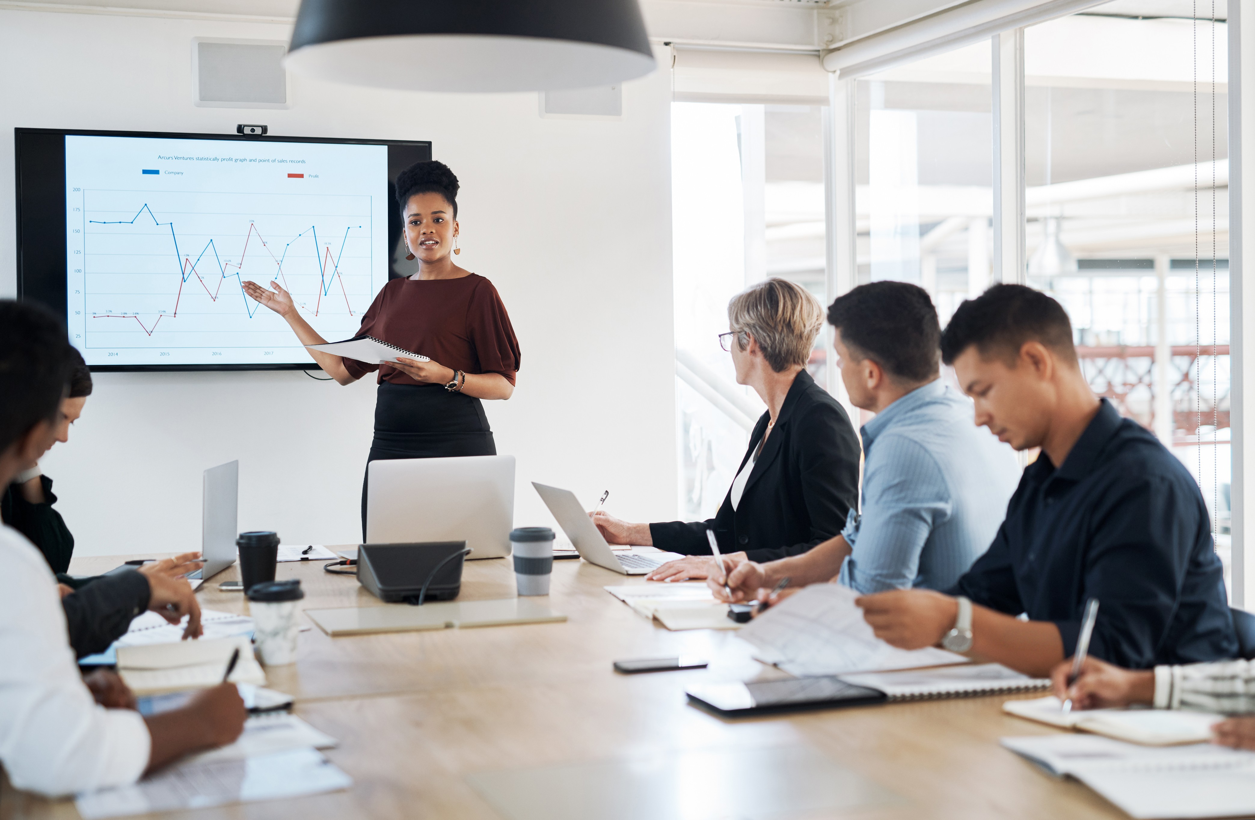 Office-group-presentation