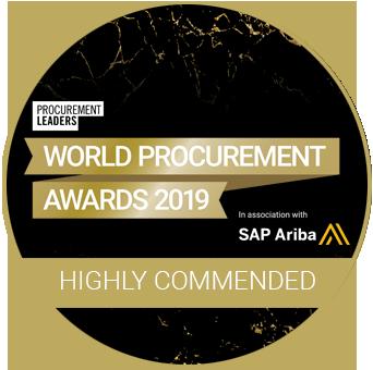 World Procurement Awards 2019 Highly Commended logo2