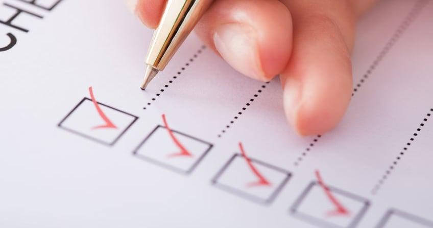 check-list-writing-pen